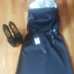 Laundry by Shelly Segal LBD Audrey Hepburn Sz 8
